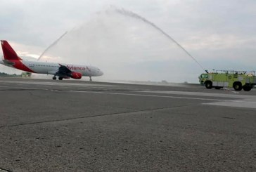 Se reactivan desde Cartagena vuelos internacionales con un plan piloto