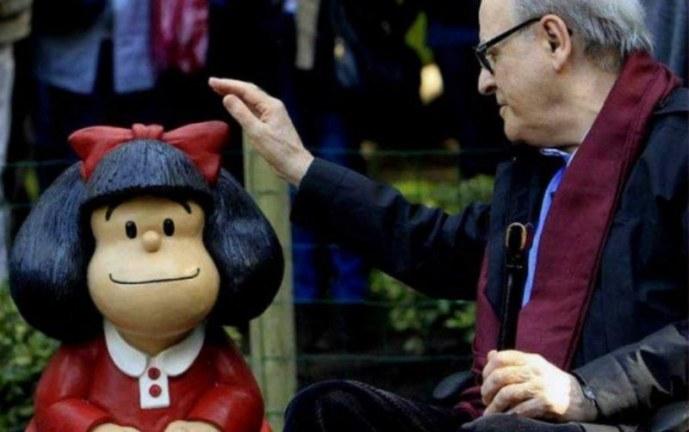 Quino, el creador de Mafalda, muere a los 88 años en Mendoza, Argentina