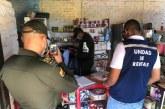 Incautaron más de 80 botellas de licor adulterado y 2000 cigarrillos fraudulentos en Jamundí
