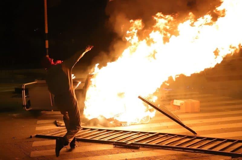 En video: recuento de las cuatro horas de terror y enfrentamientos de este jueves en Cali