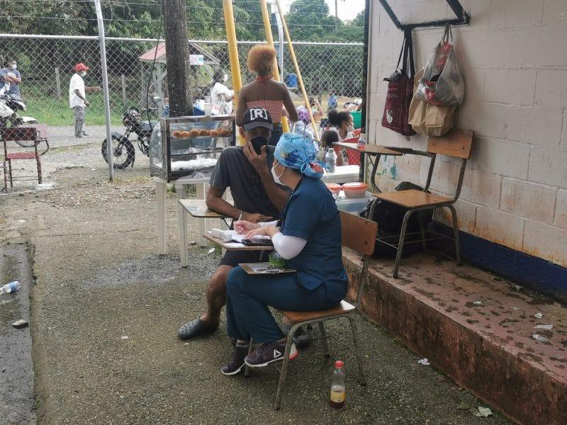 Más de 900 residentes del pacífico colombiano recibieron asistencia humanitaria y medicina