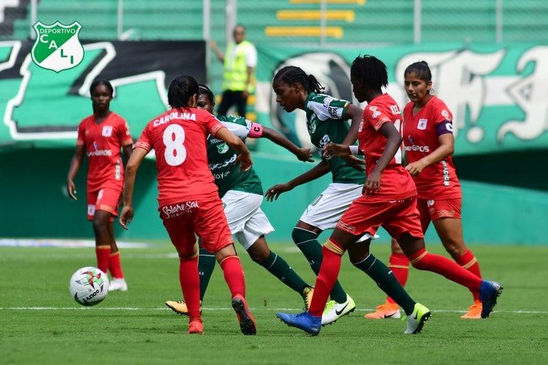 América y Cali se enfrentarán en el Pascual por la segunda fecha de la Liga Femenina