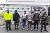 Caen presuntos miembros de 'Los Gama' por hurto y comercio de celulares en Cauca