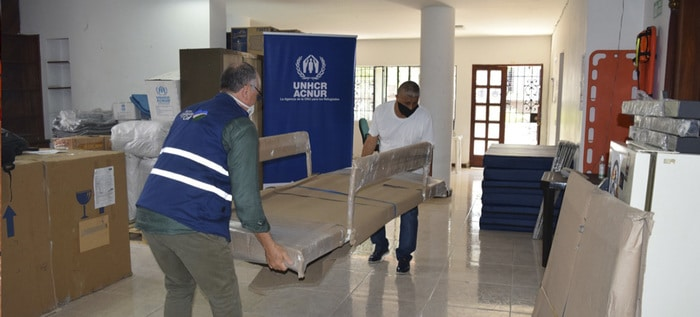 ONU dona 59 camas hospitalarias para centros de salud en Cali