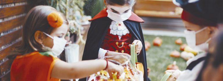 Debido a la situación sanitaria por COVID-19, el gobierno departamental pidió que en Halloween se tomen medidas de precaución.