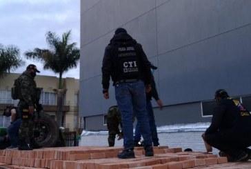 Capturan a hombre por transportar 300kg de cocaína camuflada en bloques de ladrillo