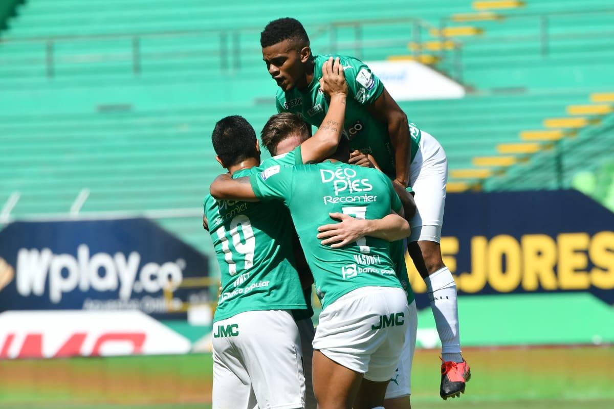 En los ocho clasificados: Deportivo Cali goleó 3-1 a Chicó
