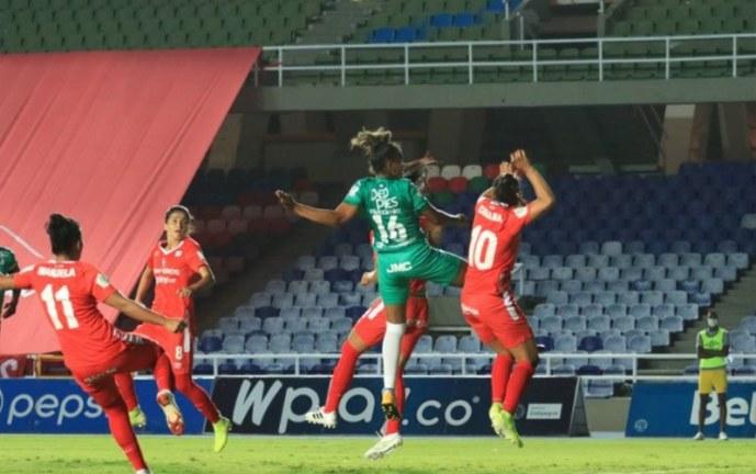 América de Cali femenino se impuso en el clásico ante Deportivo Cali