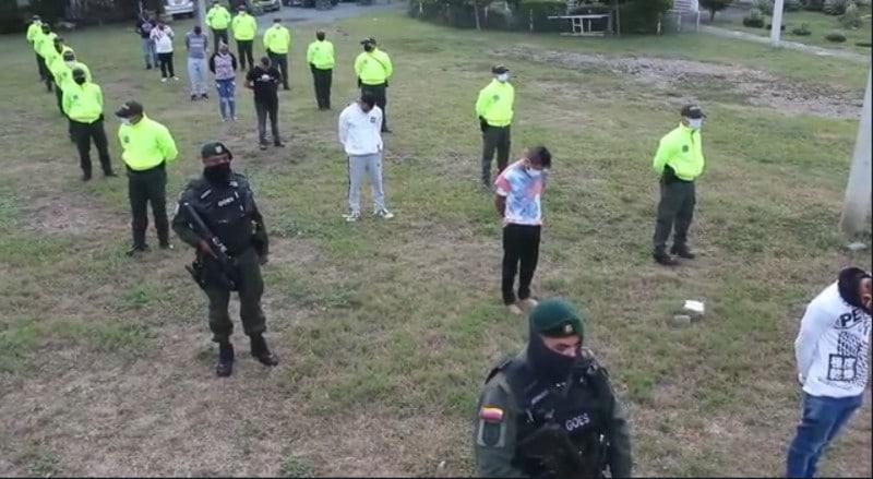 Caen 30 miembros de banda criminal 'Los Nachos', responsables de 100 hurtos en Cali