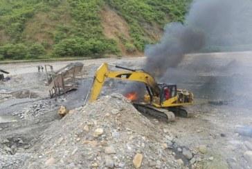 Capturan en flagrancia tres bandas de explotación minera en Cauca