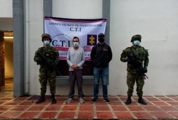 En un parqueadero, capturan a presunto integrante del ELN en Cauca