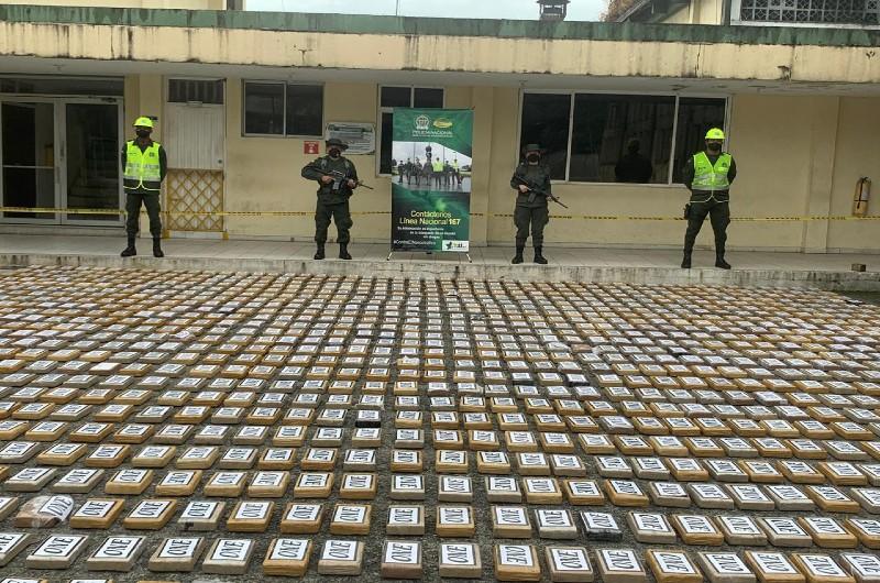 Incautados 1.604 kilos de cocaína en sacos de azúcar en Buenaventura