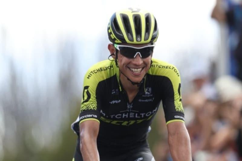 Esteban Chaves comienza con pie derecho la Vuelta a España en 4ta posición