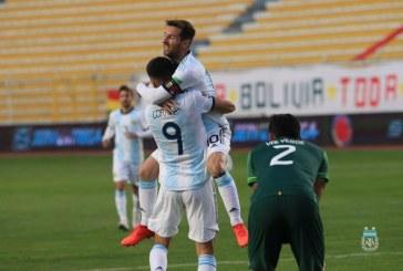 Argentina superó a Bolivia 1-2 y Ecuador goleó a Uruguay 4-2
