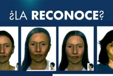 Fiscalía publicó reconstrucción morfológica de mujer desaparecida