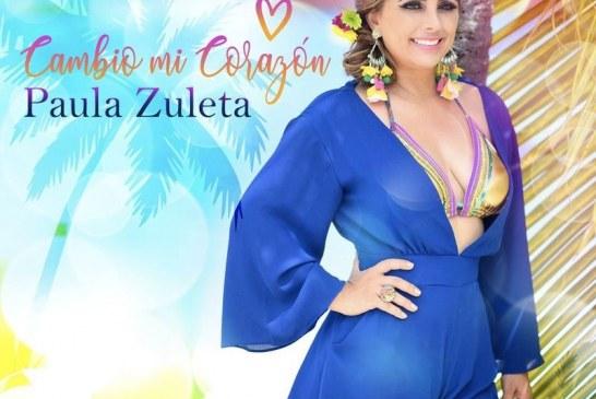 """Paula Zuleta estrena su nuevo sencillo """"Cambio mi corazón"""""""