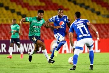 Triunfo del Deportivo Cali ante Millonarios en la Copa Suramericana