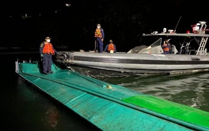 Más de dos toneladas de cocaína, incautadas en la costa nariñense