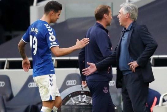 James podría jugar el partido del domingo ante Southampton