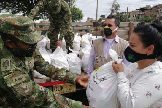 Jornadas de ayuda a los más vulnerables de Papayán, Cauca