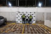 Más de 100 kilos de marihuana fueron incautados en Buenaventura