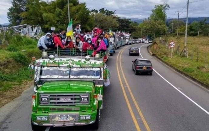 Minga indígena viajará a Bogotá