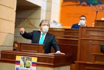 Cae moción de censura contra Mindefensa en el Senado