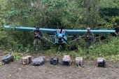Narcoavioneta es hallada en la selva de Tumaco