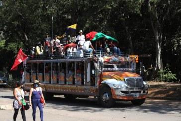 Caravana de la minga indígena salió de Cali y ahora buscará llegar hasta Bogotá