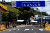 Ecuador mantendrá fronteras cerradas con Colombia hasta fin de año