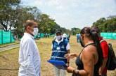Refuerzan el Jarillón, para evitar riesgo de inundaciones en la zona