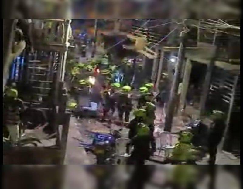 En vídeo: Captura de un presunto ladrón terminó en gran asonada en el oriente de Cali