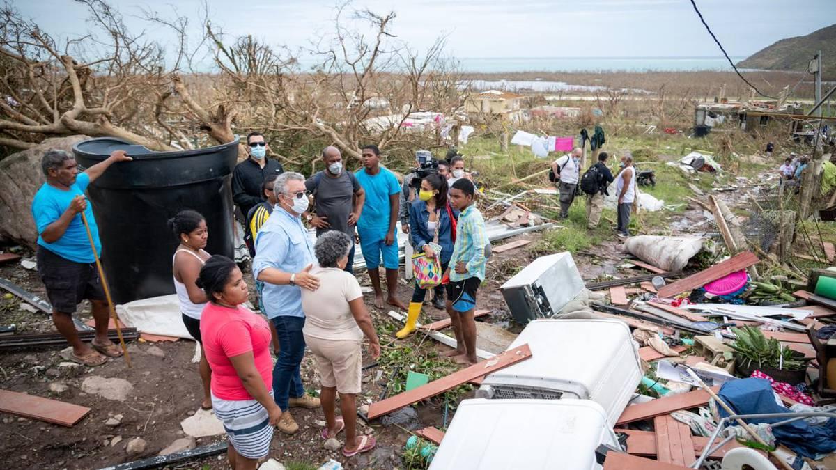 Gobierno iniciará el plan de reconstrucción de San Andrés y Providencia