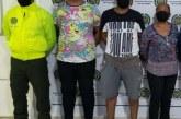 Capturan a 'Los Rollos' implicados en tráfico de estupefacientes
