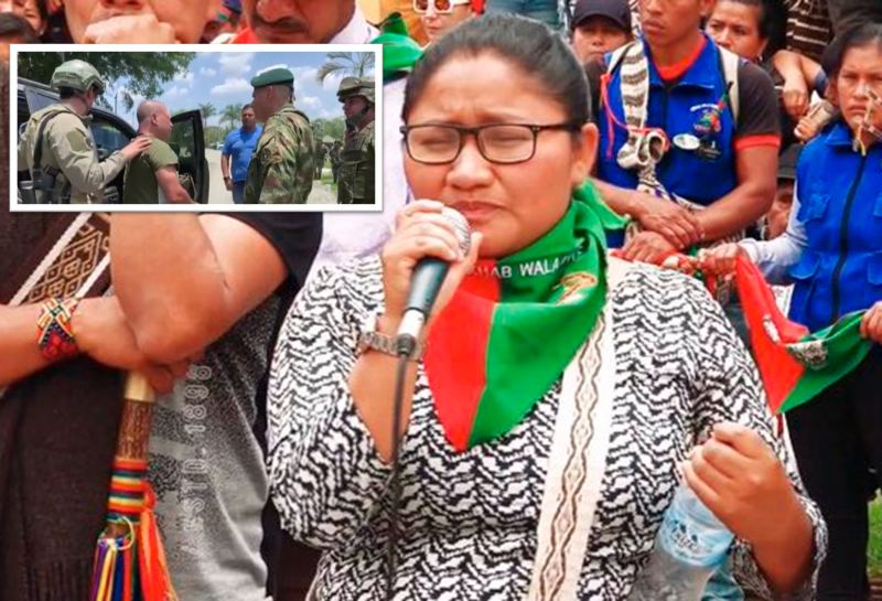 Cárcel a presunto culpable del crimen de gobernadora indígena y cinco personas en Tacueyó