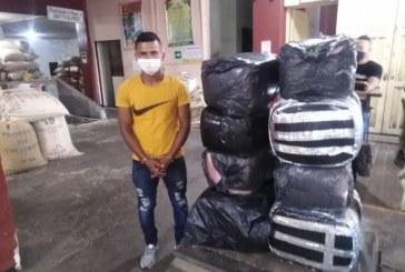 A la cárcel hombre que transportaba 146 kilos de marihuana en Sevilla