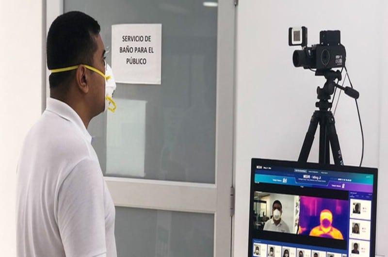 Instalan cámaras térmicas en entidades públicas para evitar contagios por Coronavirus en Cali