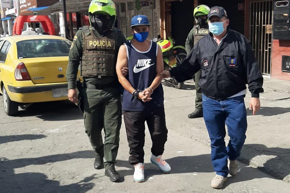 Detención preventiva para supuesto responsable de crimen en Cali