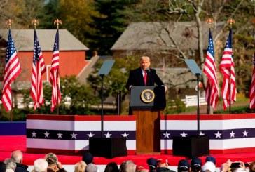 Es extraño que estados liderados por demócratas cambien de forma repentina, dice Trump