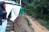 Una mujer atrapada y varias afectaciones dejaron lluvias en La Cumbre y otras veredas
