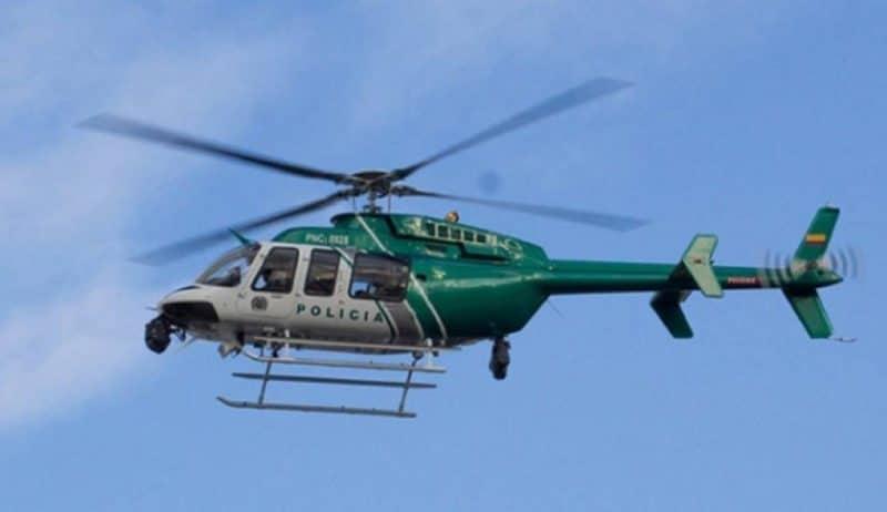 ¡Regresa el halcón! Firman convenio para mantener el helicóptero policial de Cali