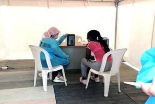 Habilitan Carpas Virtuales para que pacientes Covid reciban visitas de sus familiares