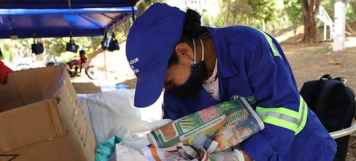 En Brisas de los Álamos se realizó primera jornada de 'Reciclatón'