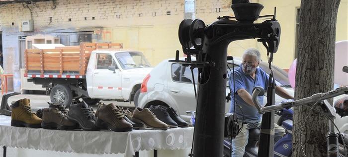 El barrio Obrero de Cali, realiza su primera feria de calzado