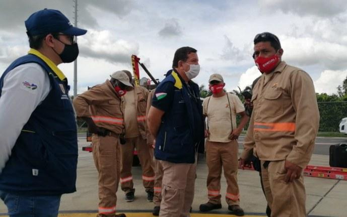 Cali envió personal y ayudas humanitarias para San Andrés y Providencia