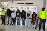 Capturan a 6 integrantes de banda criminal dedicada al hurto en Nariño