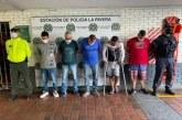 A la cárcel 'Los Magníficos' banda dedicada al hurto de vehículos en Cali
