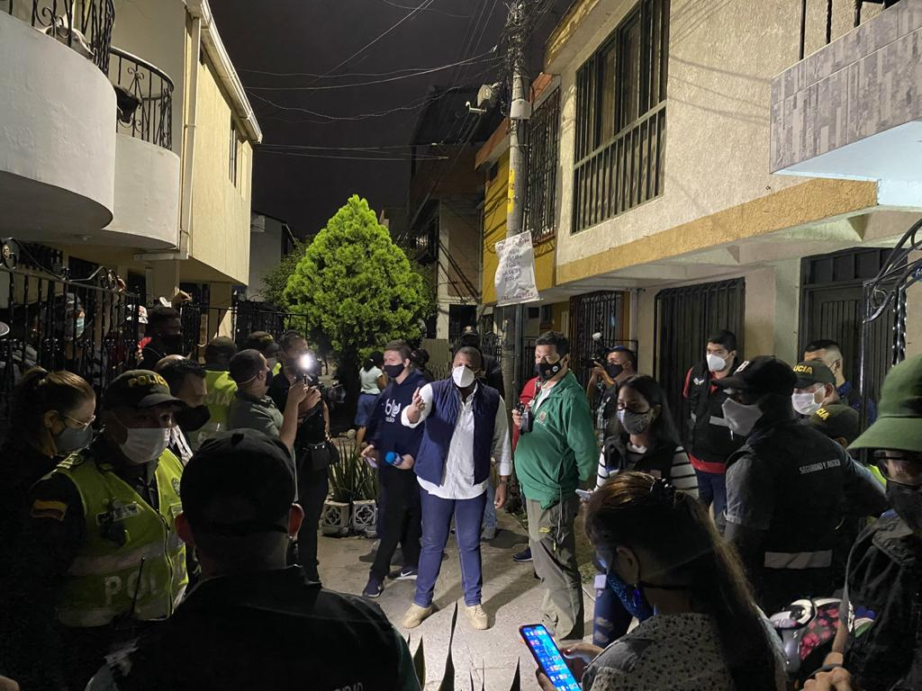 Hallaron a 200 menores de edad en fiesta clandestina, al nororiente de Cali