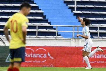 Selección Colombia goleada en casa
