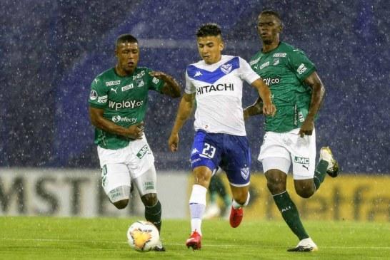 Con un polémico arbitraje, Vélez Sarsfield superó 2 – 0 al Deportivo Cali
